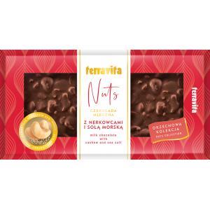 Nuts czekolada mleczna z...